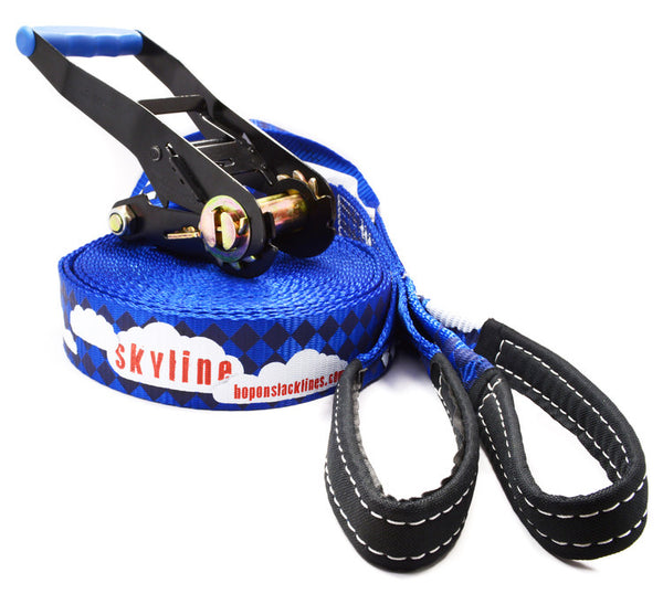 SKYLINE - Beginner Kit - HopOn Slacklines  - 5