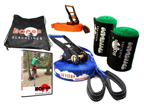 SKYLINE - Beginner Kit - HopOn Slacklines  - 1