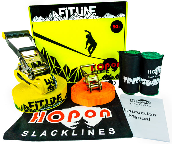 FITLINE - Mellow Yellow - HopOn Slacklines  - 1