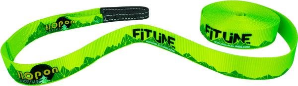 FITLINE - Neon Green - HopOn Slacklines  - 2