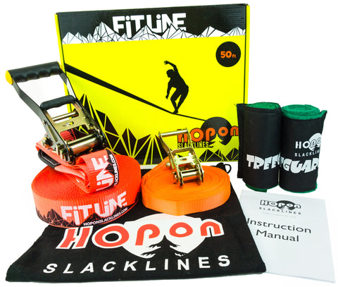 FITLINE - Lava Red - HopOn Slacklines  - 1