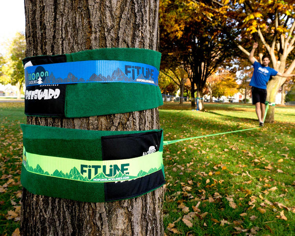 FITLINE - Neon Green - HopOn Slacklines  - 4