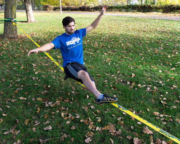 FITLINE - Mellow Yellow - HopOn Slacklines  - 5