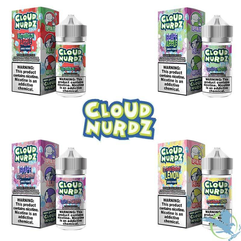 Cloud Nurdz ICED E-Liquid 100ML