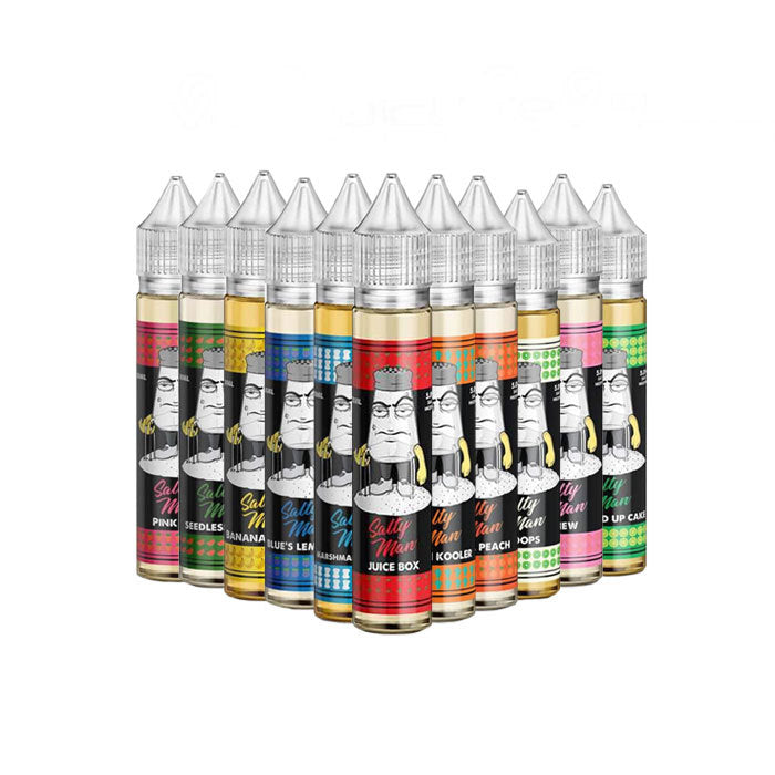 SALTY MAN LOW NICOTINE SALT E-LIQUID 100ML