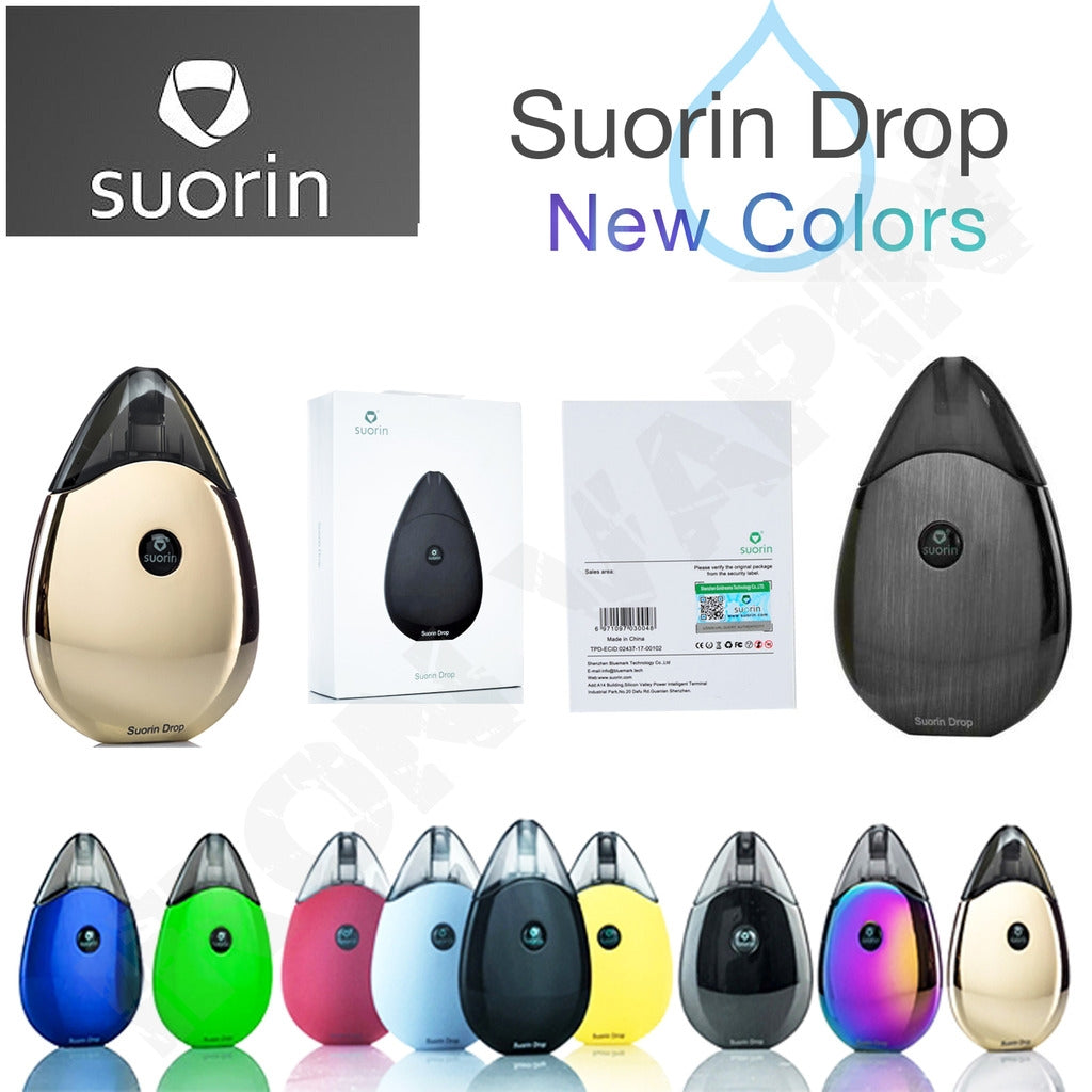 SUORIN DROP STARTER KIT 310MAH - 2ML REFILLABLE POD SYSTEM