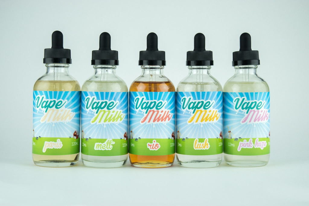 eJuice Full Line Vape Juice Bundle (10) 120ML - 1200ML by Vape Milk FREE SHIPPING