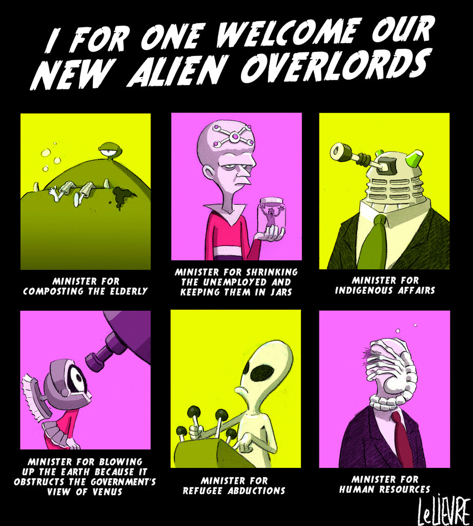 Our new alien overlords