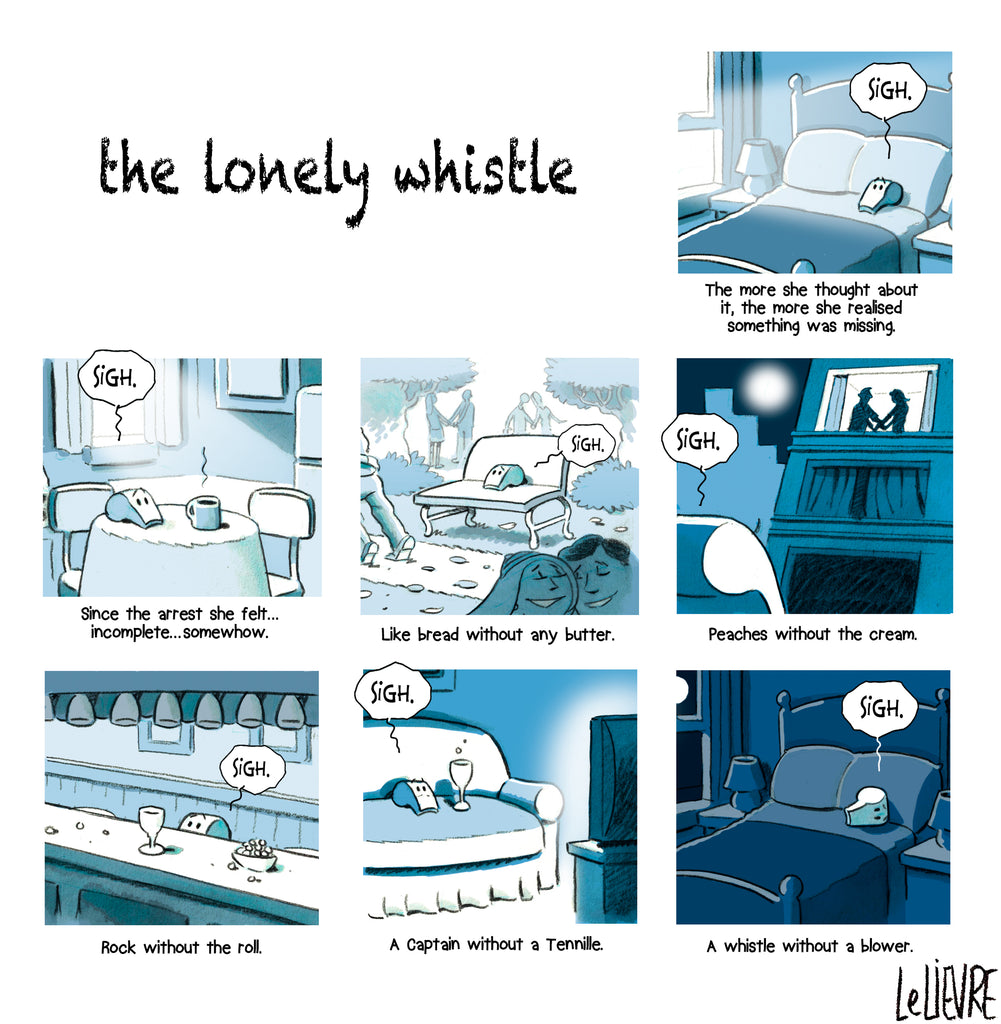 The lonely whistle