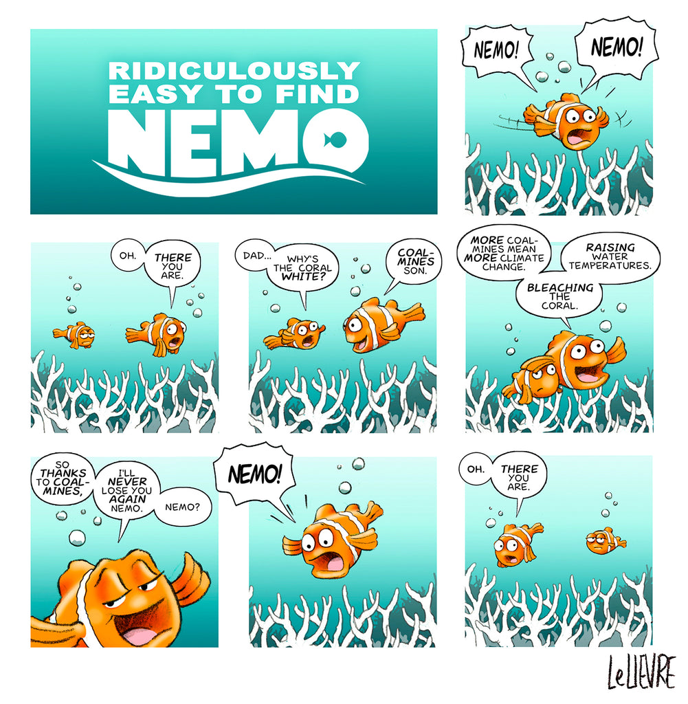 Ridiculously easy to find Nemo