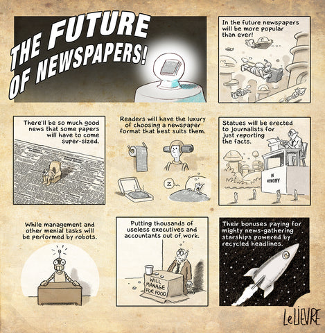 The future of newspapers