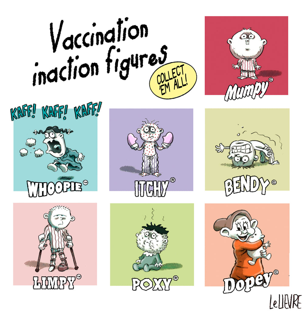Vaccination inaction figures