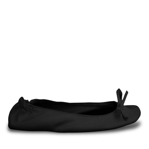 Women's Bendable Ballet Flats - Black