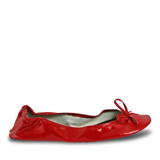 Women's Bendable Ballet Flats - Red