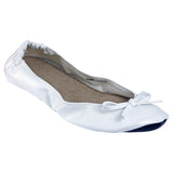 Women's Bendable Ballet Flats - White (Special Offer)