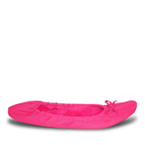 Women's Fleece Bendable Ballet Flats - Pink