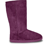 Women's 13-inch Microfiber Boots - Plum (Special Offer)
