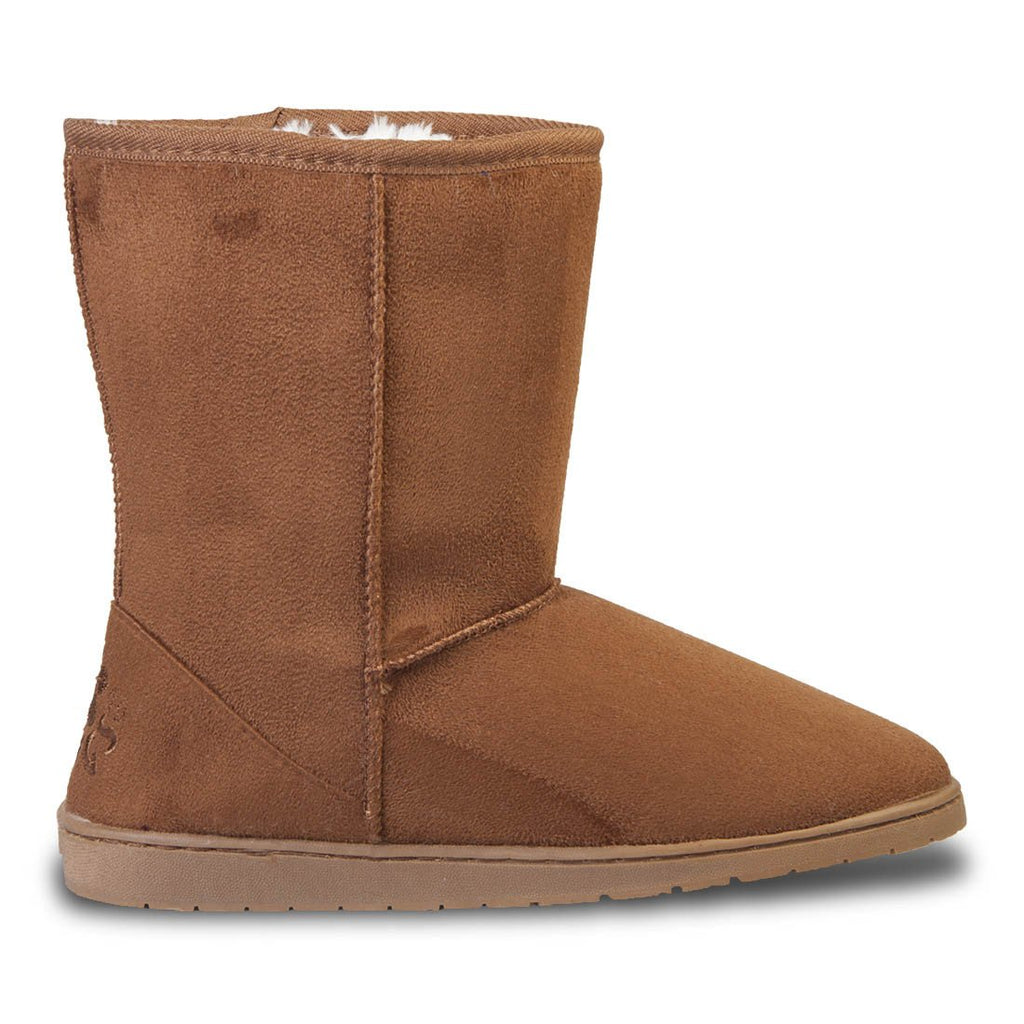 Women's 9-inch Microfiber Boots - Chestnut (Special Offer)