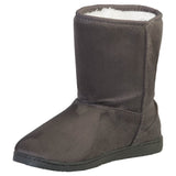 Women's 9-inch Microfiber Boots - Gray (Special Offer)
