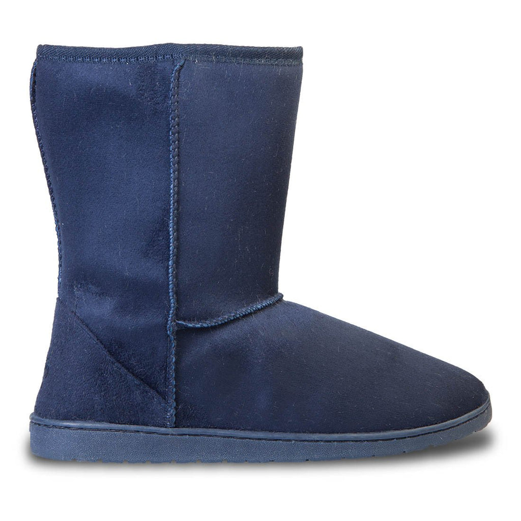 Women's 9-inch Microfiber Boots - Navy (Special Offer)