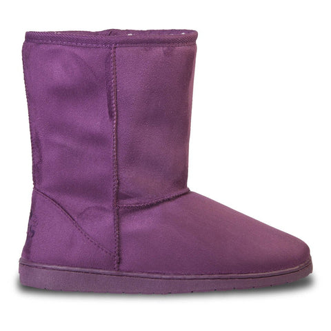 Women's 9-inch Microfiber Boots - Plum (Special Offer)