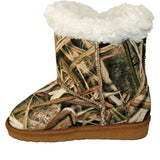 Toddlers' Mossy Oak Side Tie Boots - SG Blades