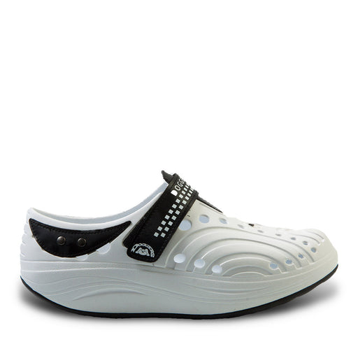 Women's Doggers Ultralite Walkers - White with Black