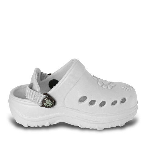 Toddlers' Clogs - White