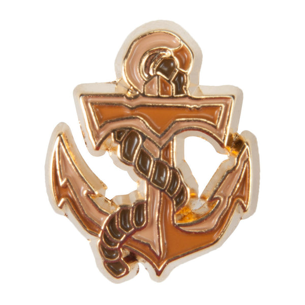 Disney Enamel Dawg Tags Shoe Charms - Anchor (C1061)