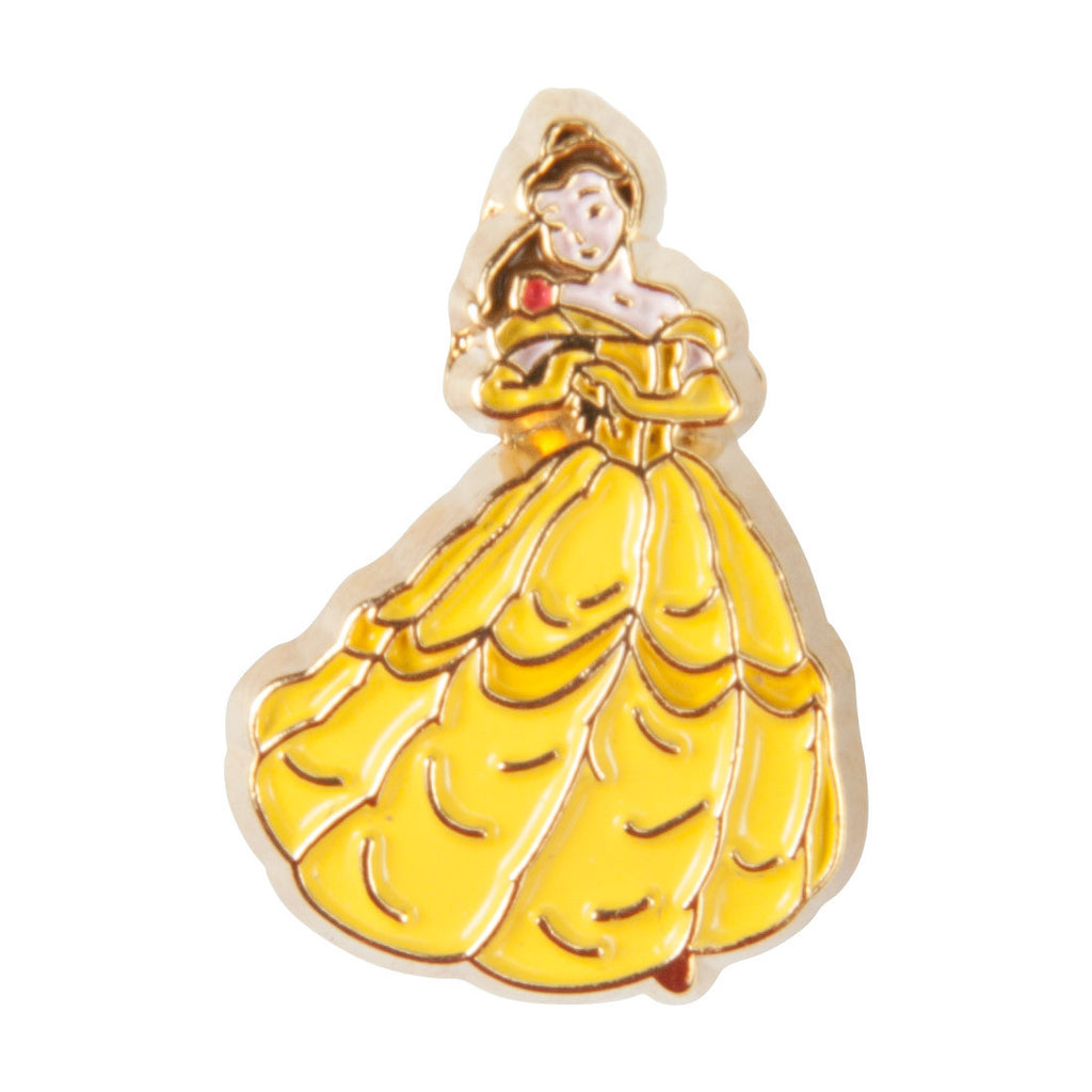 Disney Enamel Dawg Tags Shoe Charms - Belle (C1010)