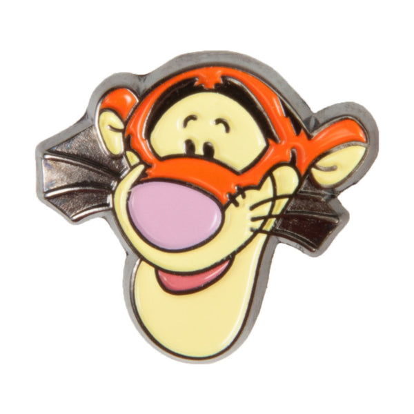 Disney Enamel Dawg Tags Shoe Charms - Tigger (C1025)