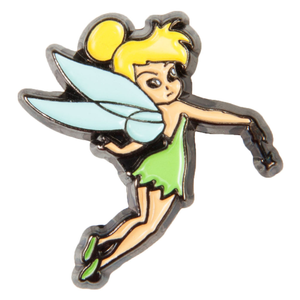 Disney Enamel Dawg Tags Shoe Charms - Tinker Bell D (C1056)