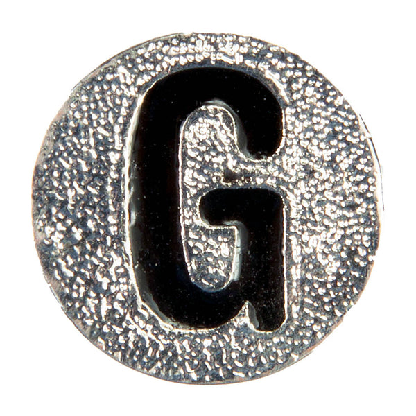Numbers and Letters Dawg Tags Shoe Charms - G