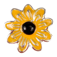 Mini Dawg Tag Shoe Charm - Sunflower
