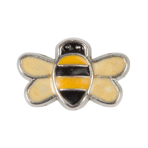 Mini Dawg Tag Shoe Charm - Bee