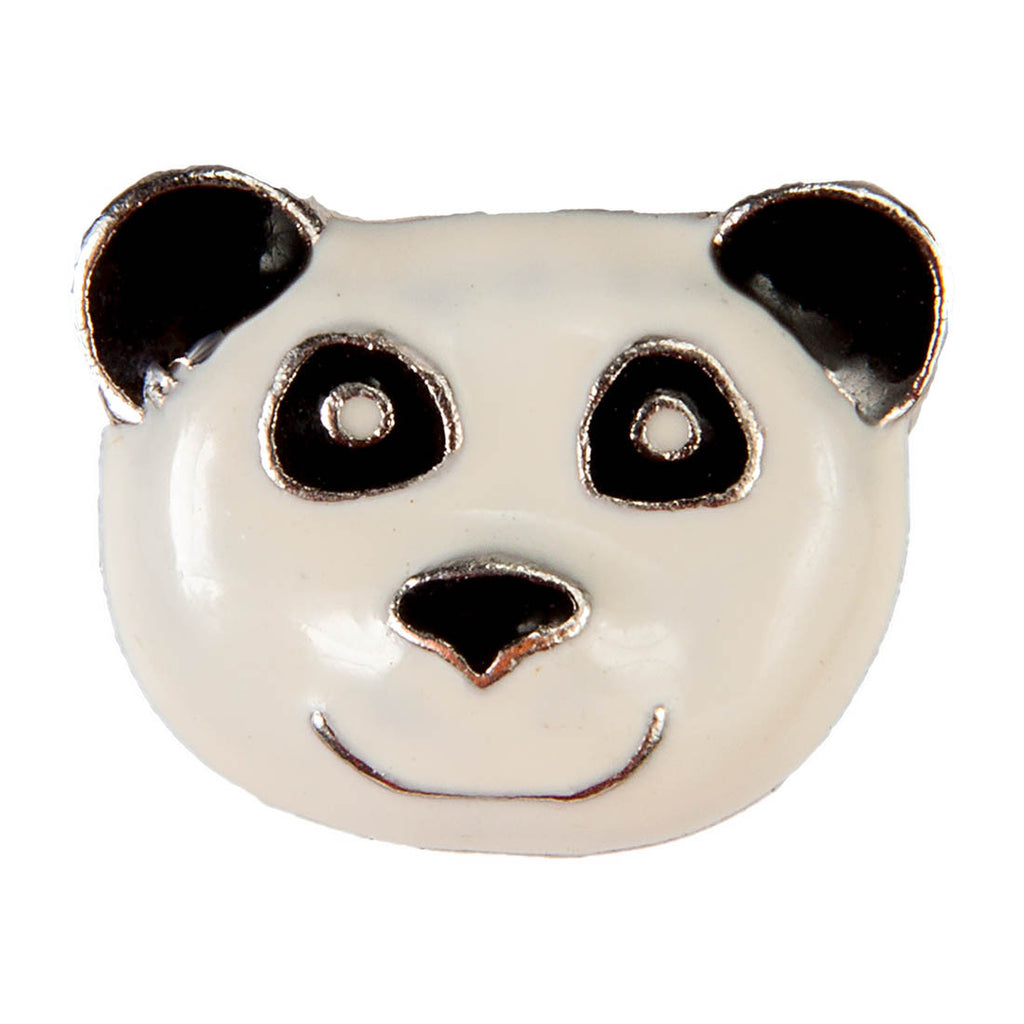 Mini Dawg Tags Shoe Charms - Panda
