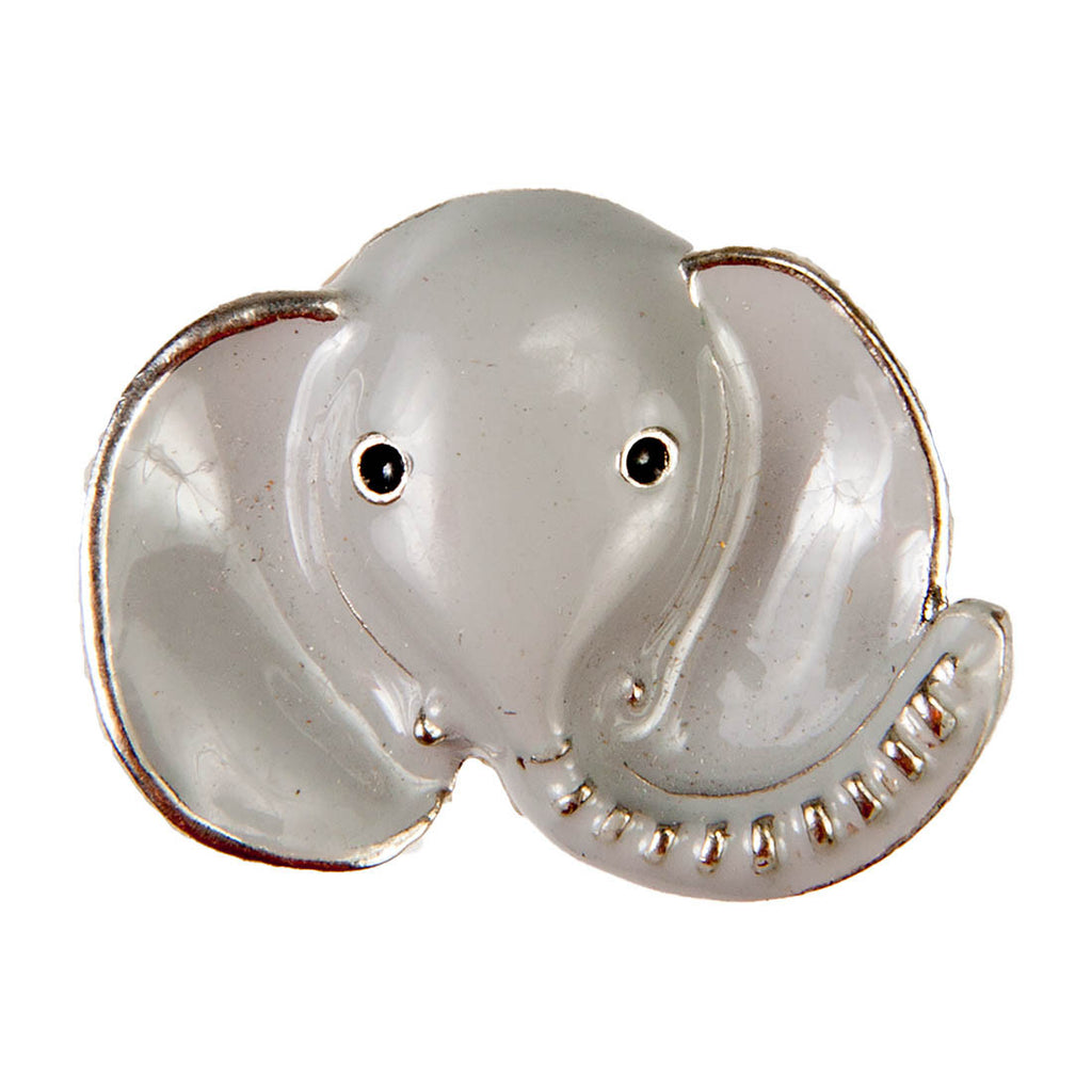 Mini Dawg Tags Shoe Charms - Elephant