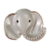 Mini Dawg Tag Shoe Charm - Elephant