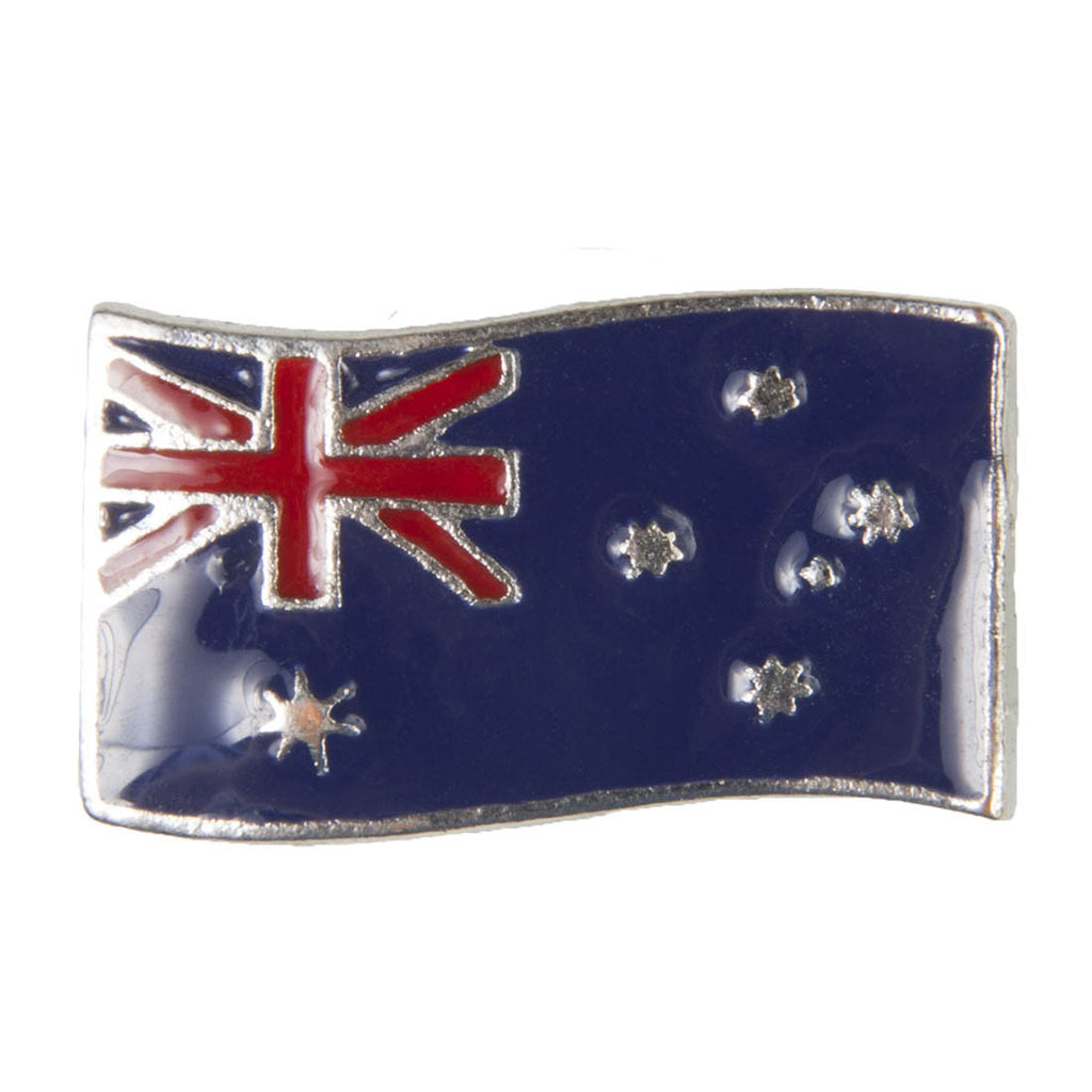 Enamel Dawg Tags Shoe Charms - Australian Flag