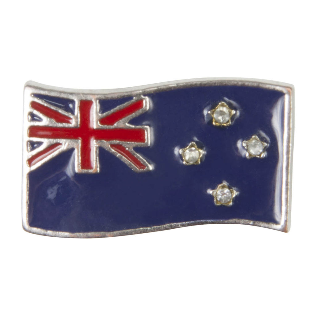 C/Z Dawg Tags Shoe Charms - New Zealand Flag