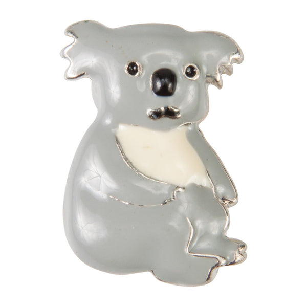 Enamel Dawg Tags Shoe Charms - Koala