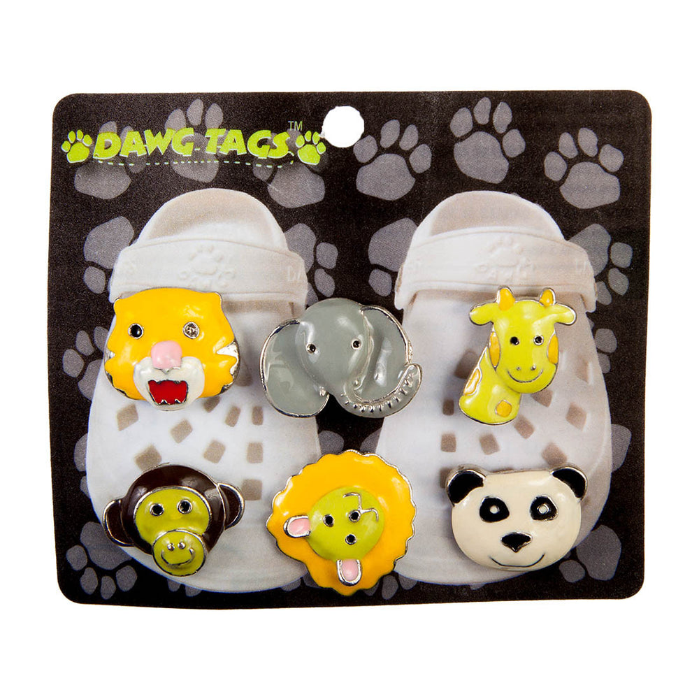 Dawg Tag Shoe Charm Starter Pack - Animals