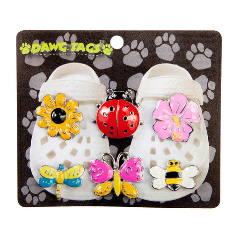 Dawg Tag Shoe Charm Starter Pack - Bugs