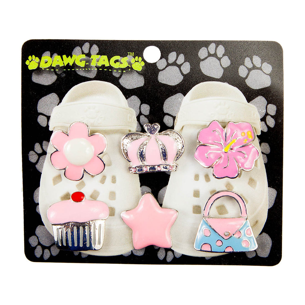 Dawg Tags Shoe Charms Starter Pack - Girls