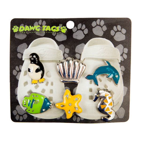 Dawg Tags Shoe Charms Starter Pack - Sea