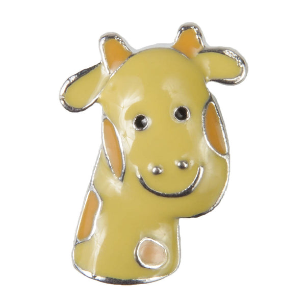 Enamel Dawg Tags Shoe Charms - Giraffe