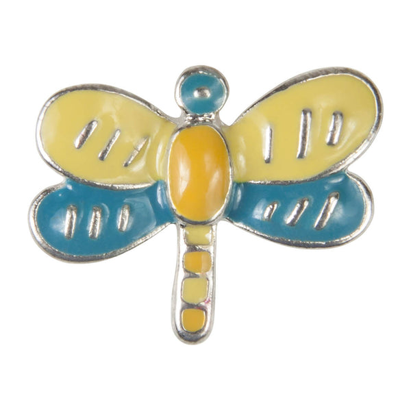 Enamel Dawg Tags Shoe Charms - Dragonfly