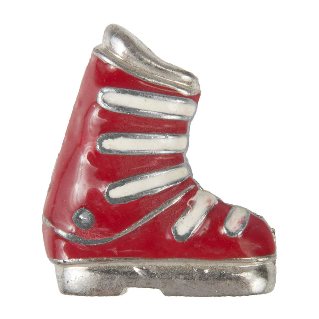 Enamel Dawg Tags Shoe Charms - Ski Boot