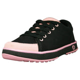 Women's Crossover Golf Shoes - Black with Soft Pink (Special Offer)
