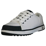 Women's Crossover Golf Shoes - White with Navy